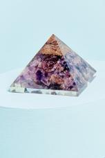 Amethyst Orgonite Pyramid - Earthbound Trading Co.